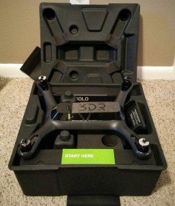 3DR Solo Drone Review - Box