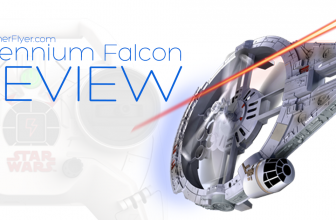 Air Hogs Star Wars Remote Control Ultimate Millennium Falcon Quad Review